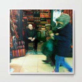 grand bazaar, istanbul Metal Print