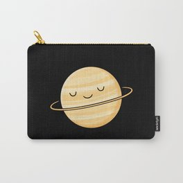 Happy Planet Saturn Carry-All Pouch