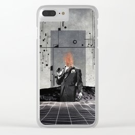 Disowned Clear iPhone Case