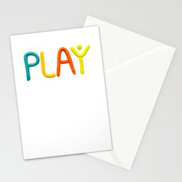 PLAY (Warm) Stationery Cards