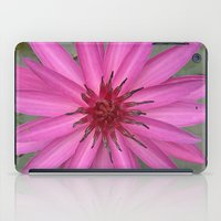 indonesia iPad Cases featuring water lily (Bali, Indonesia) by Christian Haberäcker - acryl abstract
