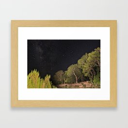 Milky Way and All Framed Art Print