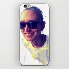 Fantasy portrait iPhone & iPod Skin