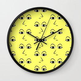 Watch Print Wall Clock