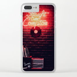 Straight Outta Compton Clear iPhone Case