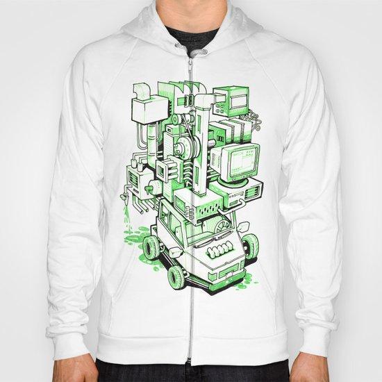 Green Machine Car Hoody
