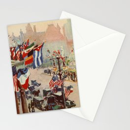 Heath, Alice - New York of Today 1917 - The Plaza at 5th Ave Stationery Cards