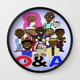 O&A All-Stars Wall Clock