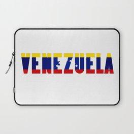 Venezuela Lettering Laptop Sleeve