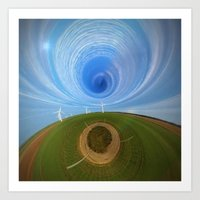 wind Art Prints featuring Wind by Sébastien BOUVIER