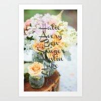 Jan's Mothers Day gift Art Print