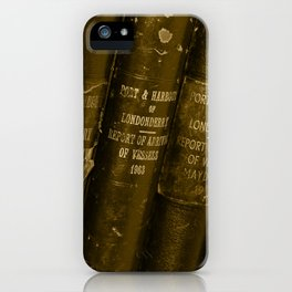 Lloyd's Logs Tint Donegal iPhone Case