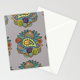 Indian style art Stationery Cards
