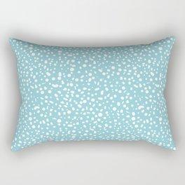 Arctic Thaw - Blue Rectangular Pillow