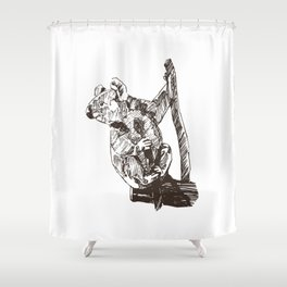 Koala Sanctuary Shower Curtain