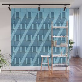Midcentury Modern Wall in Palm Springs - Abstract Minimalist Photography Wall Mural