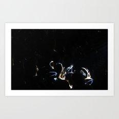 People & light Art Print