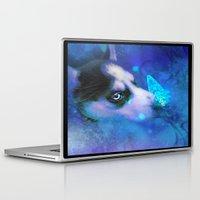 husky Laptop & iPad Skins featuring Husky by morgenleedahl