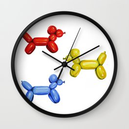 Balloon Animals Wall Clock