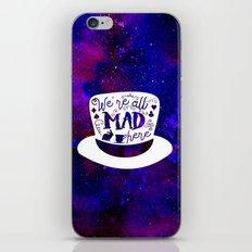 Alice In Wonderland - Mad Hatter iPhone & iPod Skin