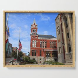 Historic Courthouse Serving Tray