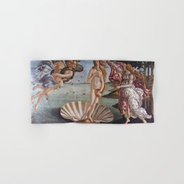 Sandro Botticelli The birth of Venus 1485 Artwork for Prints Posters Tshirts Men Women Kids Hand & Bath Towel