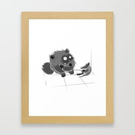 perfect situation Framed Art Print