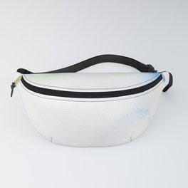 150306 Abstract Watercolor An Imperfect Circle 15 Fanny Pack