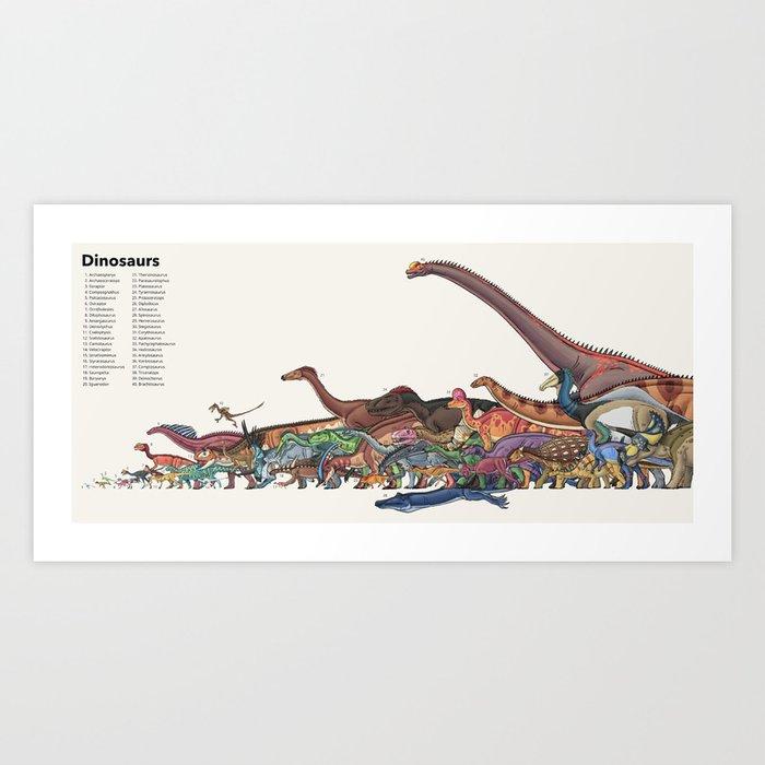Dinosaurs Kunstdrucke