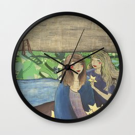They Stole The Stars From The Night Wall Clock