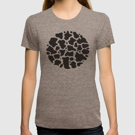 Cow pattern background T-shirt