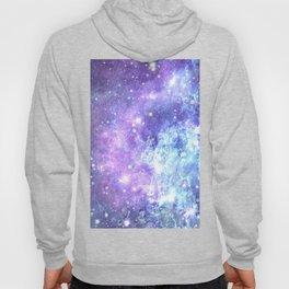 Grunge Galaxy Lavender Periwinkle Blue Hoody