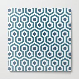 Retro Carpet Metal Print