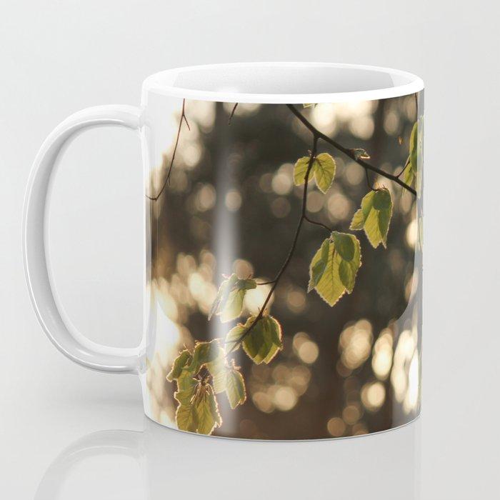 Sunlight and Oak Tree Leaves Coffee Mug