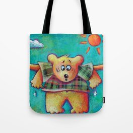 Bear Under the Sun Tote Bag