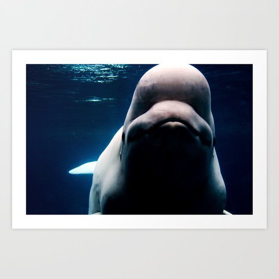 In the Deep Blue Sea Art Print