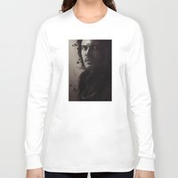 dracula Long Sleeve T-shirts featuring Dracula by LindaMarieAnson