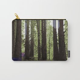 Northern California Redwood Forest Pixelart Carry-All Pouch