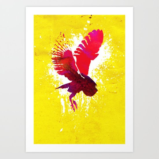 Natural Flight Art Print