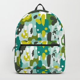 Painted Camo Backpack