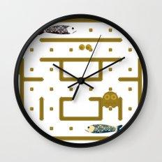 Pac-Fish Wall Clock