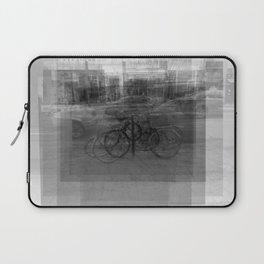 Toronto Bike Ring Overlay Laptop Sleeve