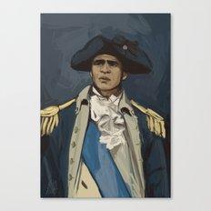 George Washinghton Canvas Print