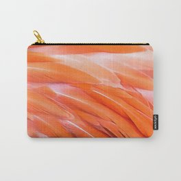 You Are What You Eat Flamingo Feathers Carry-All Pouch