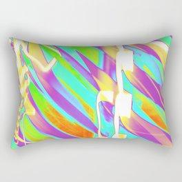 Light Dance Candy Ribs edit1 Rectangular Pillow