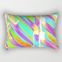 Light Dance Candy Ribs edit1 Rectangular Pillow