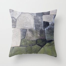 An imperial wall Throw Pillow