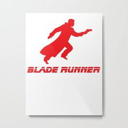 Blade Runner Red Metal Print