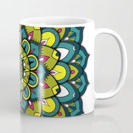 Emerald Mandala Coffee Mug