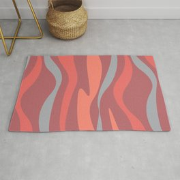 Abstract composition Rug